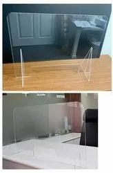 Office table partition