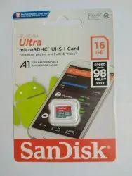 SanDisk 16 GB Ultra microSD UHS-I Card