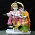 Multi Colour Radha Krishna