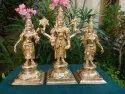 Vishnu With Thayar One Feet