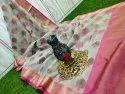 Pure Handloom Kora Silk Banarasi Saree