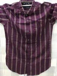 Full Sleeves Cotton Men Shirt, Size: Medium