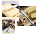 Stainless Steel Butter Knives With Serrated Edge And Holes