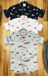 Cotton Casual shirts Men's Shirt, Size: MLXL