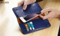 Black Leather Wallet Case For Mobile And Tablet Cover