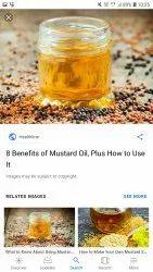 Kachi Ghani Nirmit Red Mustard Oil, Packaging Type: Plastic Bottle