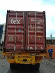 Standard Close Container Body Truck For House Shifting