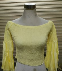 Yellow Ladies Top