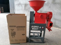 6N80 MINI RICE MILL WITH FAN