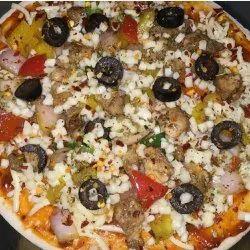 Delight Chesse Corn,Chicken Tikka Frozen Pizza, Size: Regular
