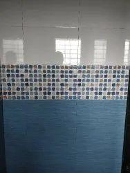Bathro6 Ceramics 12x18 Glossy Tiles, Thickness: 6 - 8 mm, Size/Dimension: Medium