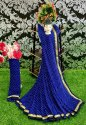 Ligalz present bandhni saree with blouse