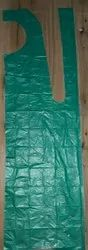 PE Green, blue Disposeble Aprons for hospitals, For Safety & Protection, Size: Medium
