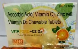 Vitamin C Tablet With Zinc And D3