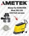 Bd 530 220 Volt Version Ametek Vacuum Motor For Scrubber Dryer Karcher
