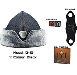 Black and brown Ertugru Cap for Kids