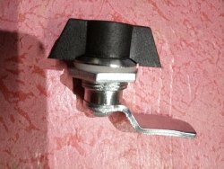 CP Zinc Alloy Metal Wing Lock, Finish Type: Chrome