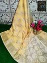 Banarasi Kota Check Cotton Silk Sarees