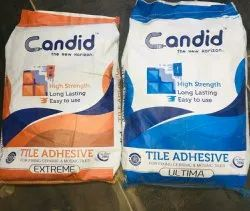 Candid iso Extreme Tile Chemicals Fixing Adhesive, Bag, 20 Kg