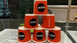 Multicolor Printed Disposable Paper Coffee Cup, For Event and Party Supplies, Capacity: 100 Ml