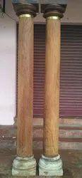 Antique Wooden Pillar