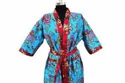 Cotton Printed Bathrobe Kimono