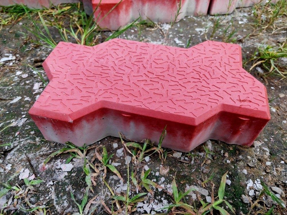 Ramananda Pottery Plaver Blocks Zigzag Paving Block, Thickness: 80 M.m, Rs 20 \/piece  ID