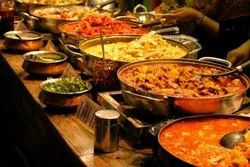 Catering Service For Wedding, For Eating, Live Counters