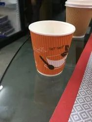Brown Ripple cup log print, For Event, Capacity: 250 ML