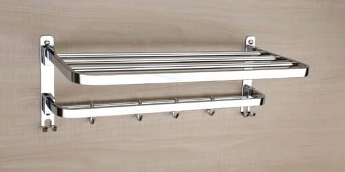 Ss Folding Towel Rack