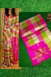 Tripura Silk 3 Colour Sarees