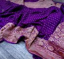 Banarasi Georgette Buti Sarees