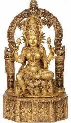 Rajarajeshwari Brass Statue, For Worship