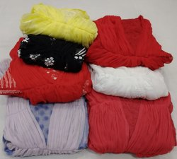 Multicolor Ladies Chiffon Gown