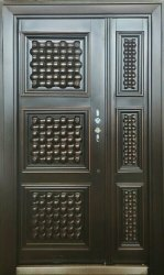 Standard Brown Mild Steel Door, For Home