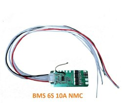 6S 10 Amp NMC BMS
