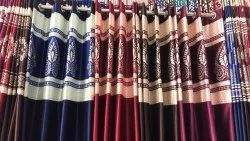 Patch Curtain Long Crush Curtain