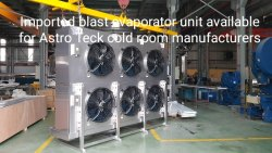 Blast Freezer evaporator unit