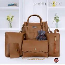 Jimmy choo 5 pcs combo with teddy