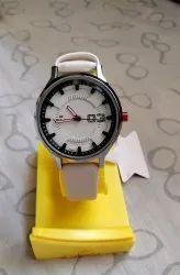 Black N White Formal Wear Ladies Wrist Watch, For Daily