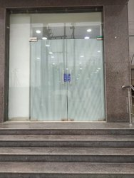 Hinged Plain Toughened Glass Door, For Office,Hotel, Thickness: 20 Mm