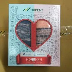 Trident Towel Gift Set ( HIS & HER)