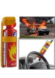 Aluminium Car Fire Extinguisher., Capacity: 500
