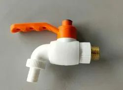 Wall Mounted Brass & pvc Turkey tap, For Bathroom Fitting