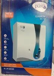 White Pure It Classic Ro Mf Water Purifier, Capacity: 6 stage, Storage Tank Capacity: 6 Storage