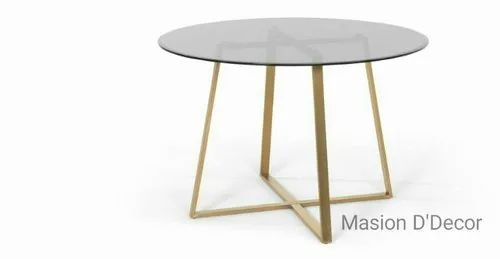 Gold 24 Inch Height 36 Dia Round, 24 Inch Round Table