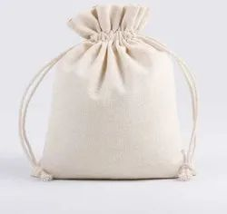 Cotton Drawstring Pouch Bags