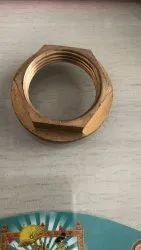 Brass Wash Basin nut, Nickel
