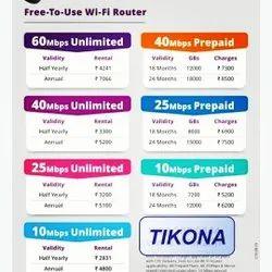 Tikona Broadband Internet Service Providers, in Ahmedabad