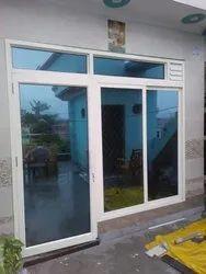 Modern White Aluminium Doors, For Home